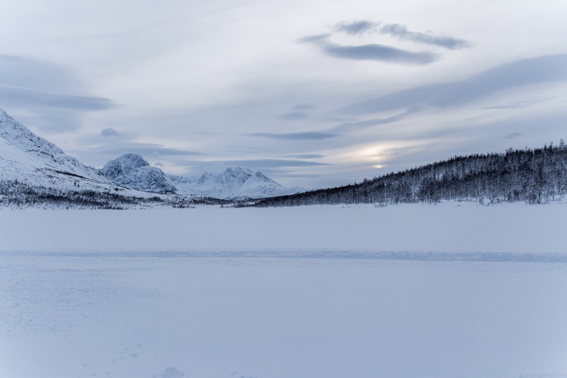 Guide Tromso DamienLB lac gelé pêche blanche
