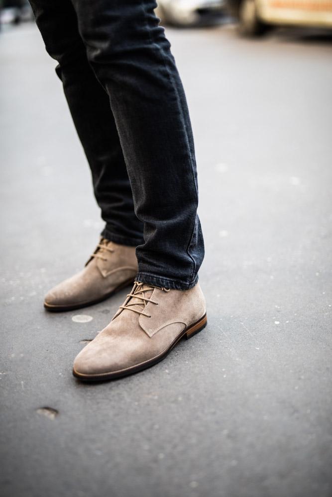 boots bobbies le mercenaire damien lb