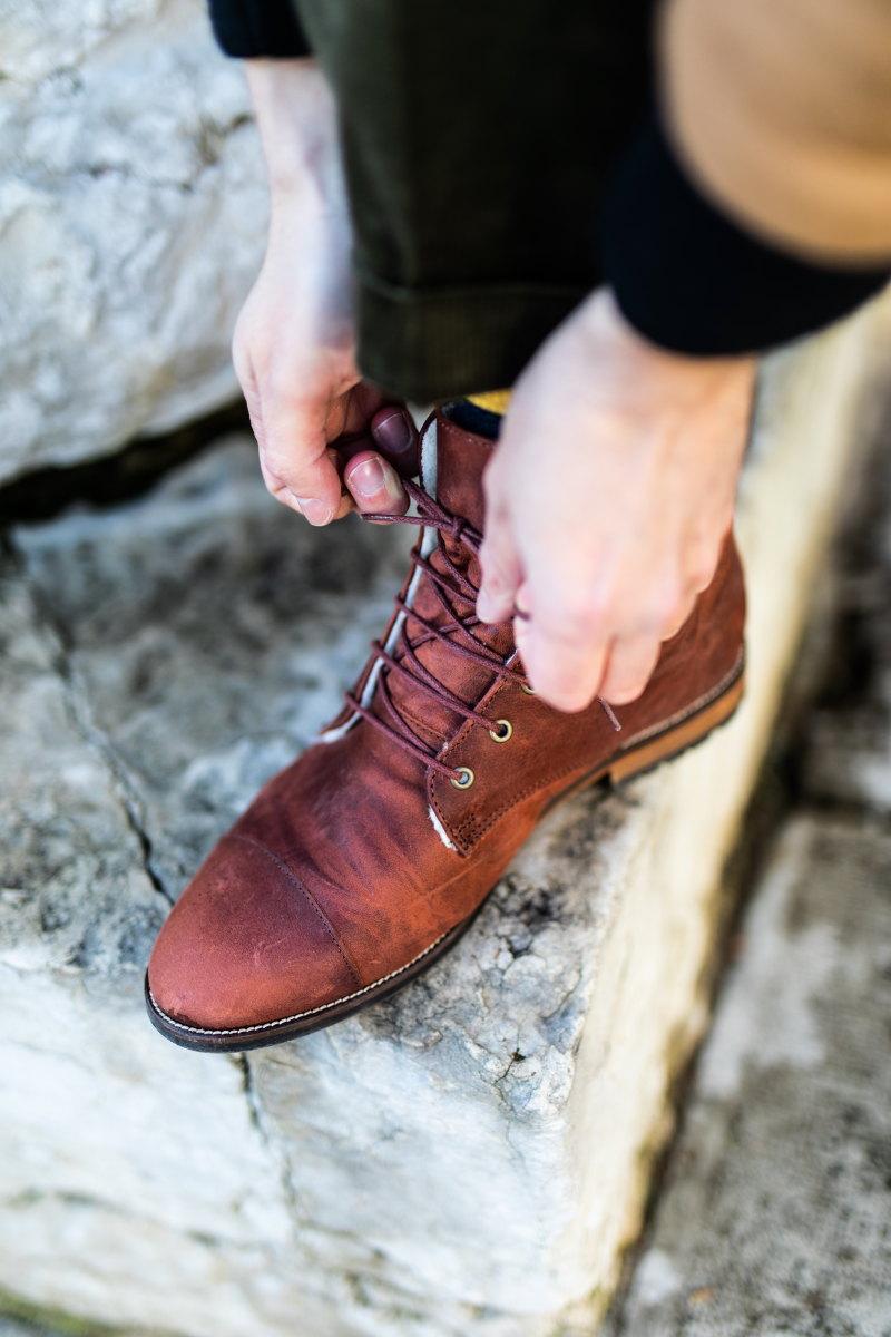 boots bobbies lacets damienlb