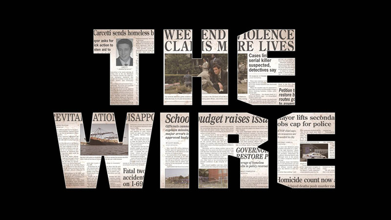 cinq meilleures series the wire damienlb