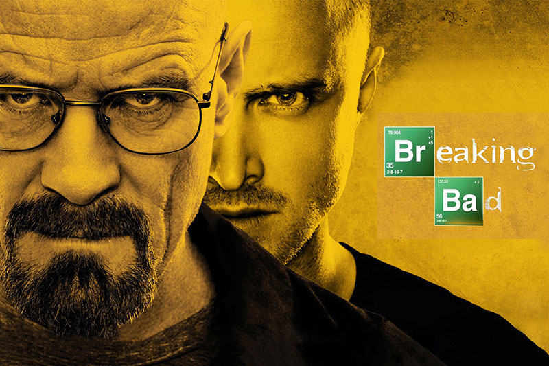 cinq meilleures series breaking bad damienlb