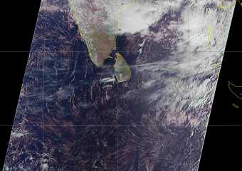 Meteor MN2 over Sri Lanka on 01st Aug 2019
