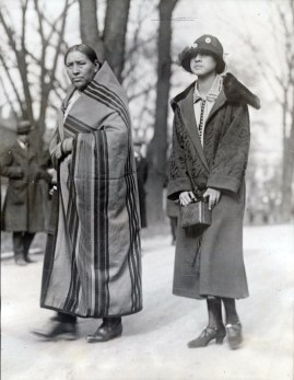 Osage mother-daughter