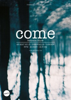 COME – 23 May 13