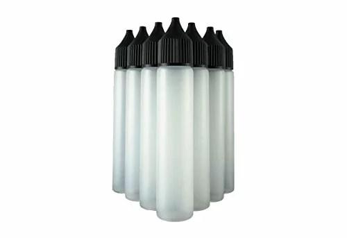 10x Diy Leer : 10x unicorn flasche 30ml nadelflasche liquidflasche für e liquid