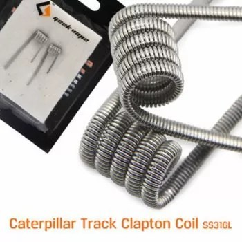 Geekvape Caterpillar SS316L Track Coil Fertigwickelung (2er Pack).