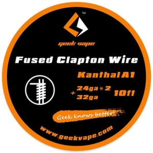 GeekVape SS Fused Clapton Wire - 10ft