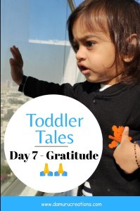 Teach Gratitude to toddlers and kids