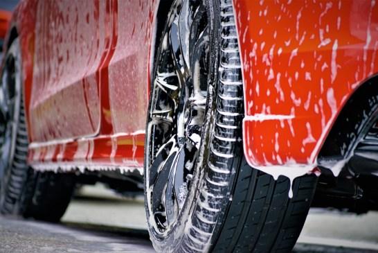 Ruční mytí auta