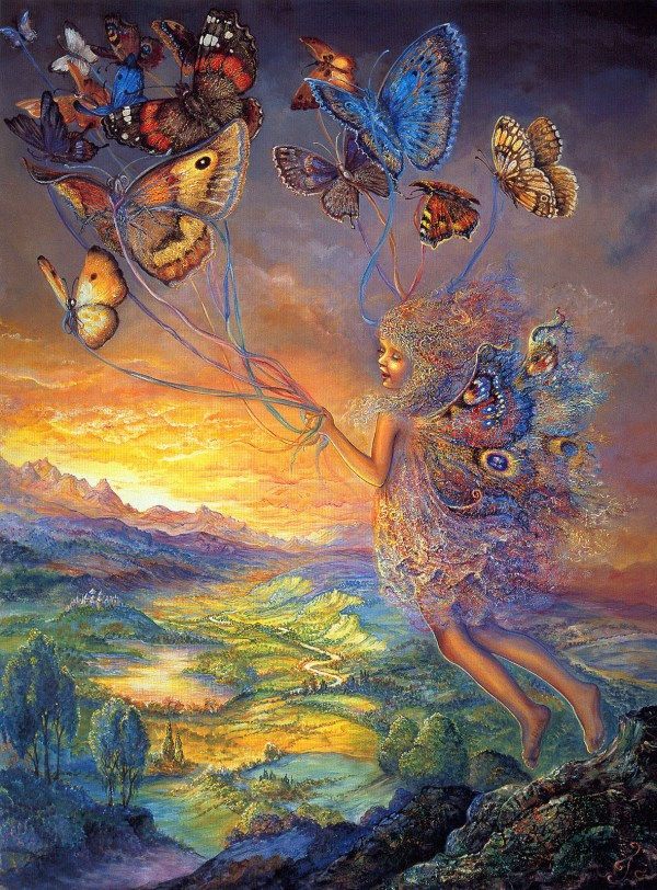 Fantasy Art Josephine Wall Fairies And Goddesses