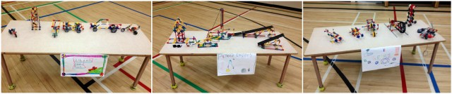 Machines built at school.