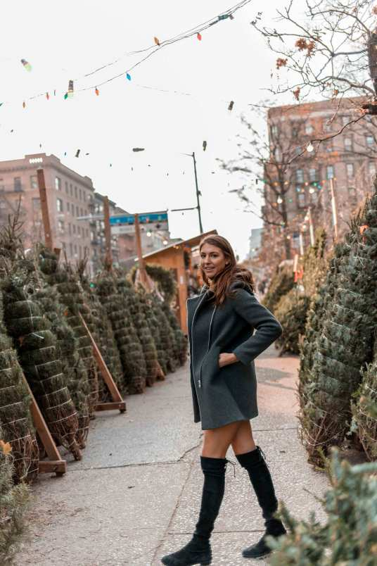 Christmas Tree Shopping NYC
