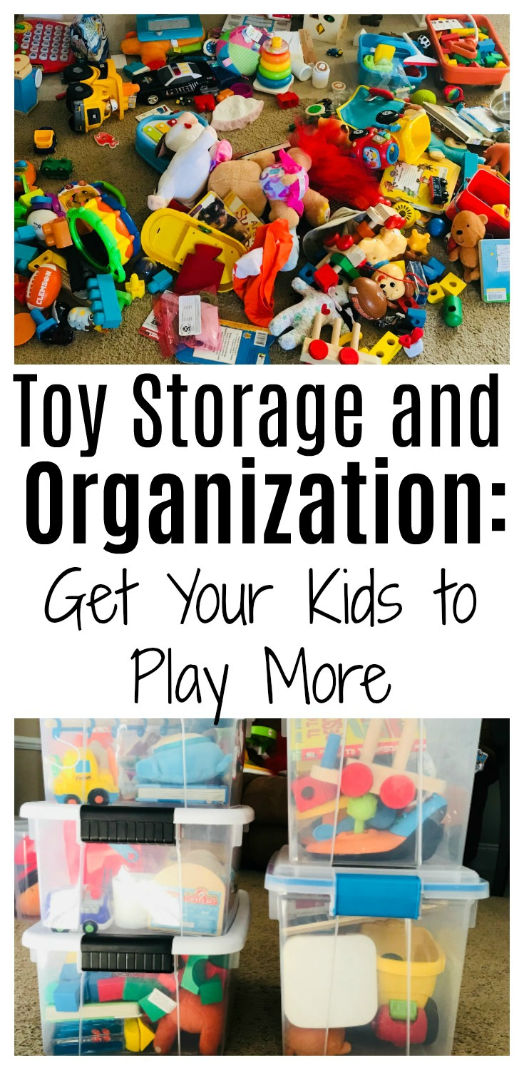 Toy Storage and Organization: Get Your Kids to Play More