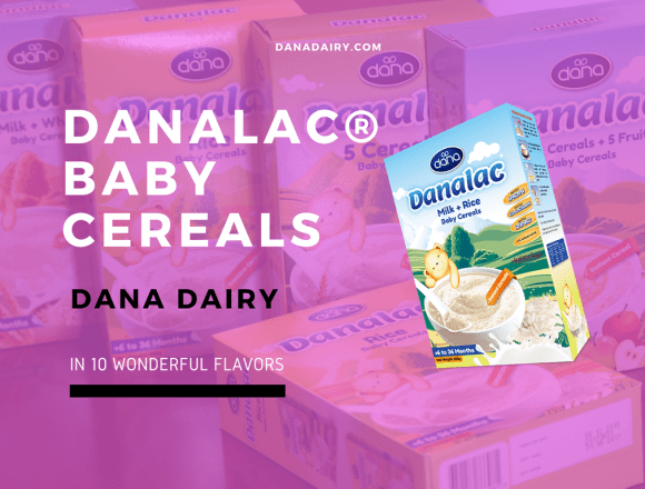 Dana Dairy Introduces DANALAC Baby Cereals