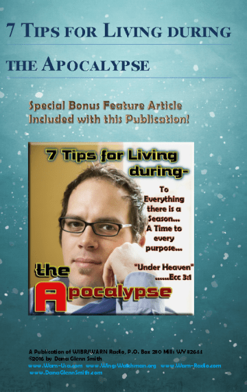 7 Tips for Living during the Apocalypse E Book