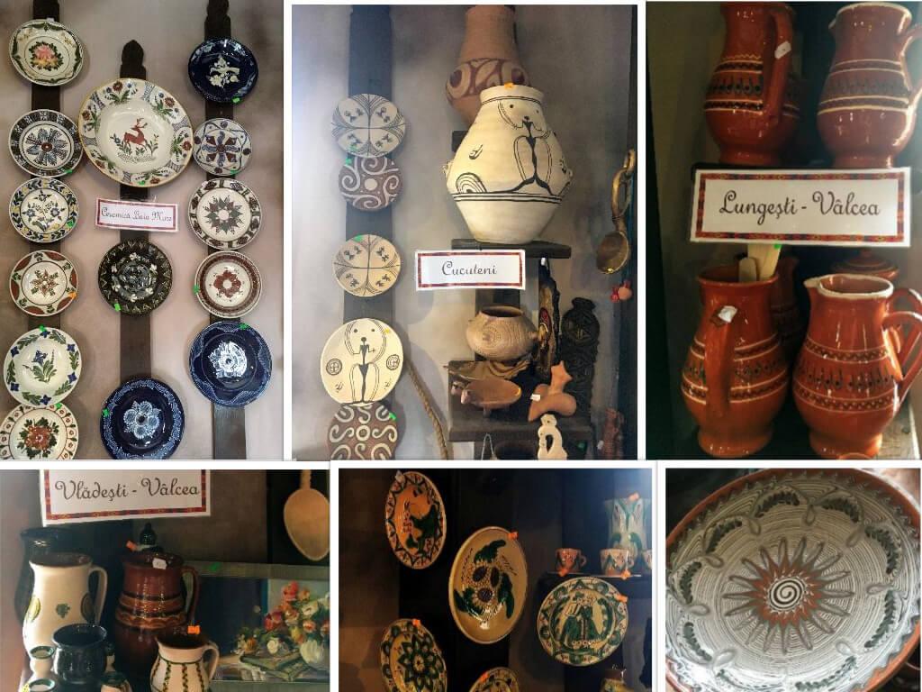 Ceramică de Baia Mare, Vâlcea sau Cucuteni