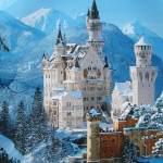 Iarna la castel