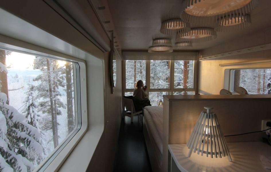 The Cabin, Tree Hotel, Sweeden