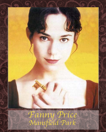Fanny Price front