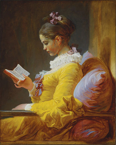 A Young Girl Reading, Jean-Honoré Fragonard