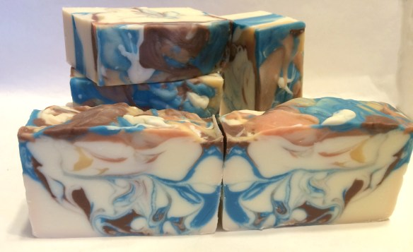 Sexy Man Soap: Butterfly Swirl Technique