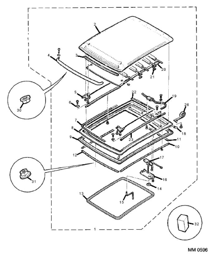Inalfa Sunroof Wiring Diagram