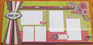 Two page scrapbook layout Ivy Lane Cricut Artiste Girl Valentines Day Love Fun #ctmh #criuct #scrapbooking #scraptabulousdesigns