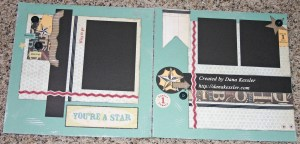Twp Page Scrapbook Layout Typeset School Star Boy #ctmh #scraptabulousdesigns