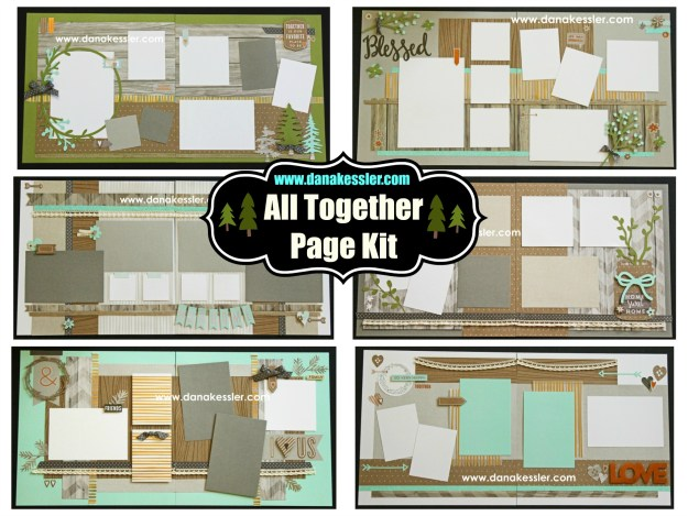 All Together Rustic Home Love Fundamentals Scrapbook Layout Page Kit #ctmhrushtichome #ctmhfundamentals #scrapbooking #cricutexplore #ctmhflowermarket #scraptabulousdesigns #pagekits