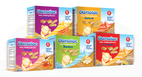 DANALAC Baby Teething Biscuit