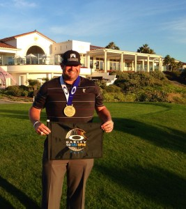 Jason Gore shot a three-round total of 203 (-9) to win the Oakley Southern California Open on November 6. Courtesy photo