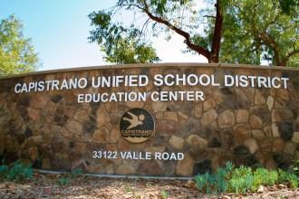 Capistrano Unified School District. File photo