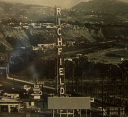 """A beacon that sat atop the Pacific Coast Highway located """"Richfield"""" tower for more than 40 years before its dismantling in 1971 was recently donated to the Dana Point Historical Society. Photo courtesy of the Dana Point Historical Society"""