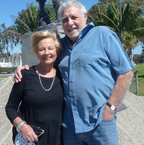 Tom Blake took this photo of Tina and Chris this past Sunday in Dana Point Harbor. Chris sure doesn't look like he had open-heart surgery four weeks ago.