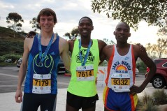 Top male finishers at last year's Dana Point Turkey Trot 10K. Photo: Andrea Papagianis