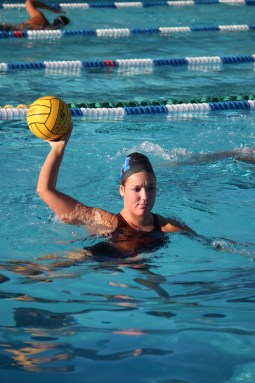 Maia Borisoff and the Dana Hills girls water polo has won three out of their last four games. Photo: Steve Breazeale