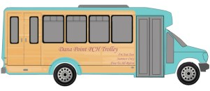 Trolley rendering: Courtesy of the City of Dana Point