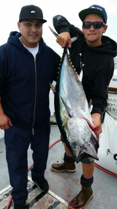 A local angler shows off his catch of the day. Photo: Courtesy