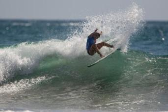 Bethany Zelasko of Dana Point, as the Girls U18 division runner-up, was the highest placing surfer among the girls at Surfing America Prime Event No. 1, Photo: Jack McDaniel