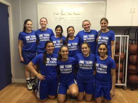 The Dana Hills girls basketball team completed a remarkable turnaround in 2016 after winning 16 games and punching their ticket to the CIF-SS playoffs. Photo: Courtesy