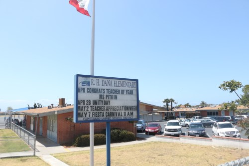 R.H. Dana Elementary School in Dana Point is among a group of CUSD schools transitioning to specialized, academy-style focused education. Photo: Eric Heinz