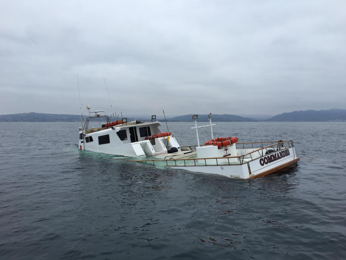Update harbor patrol rescues two men from sinking fishing for Fishing dana point