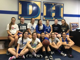 The Dana Hills girls basketball team is focusing on playing with an tough defensive style this season. Photo: Steve Breazeale