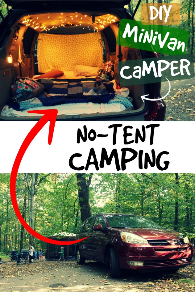 Minivan Camper Conversion For Glamping On A Budget