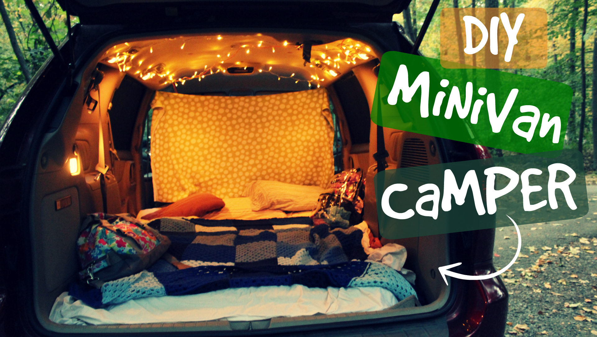 DIY Minivan Camper Conversion