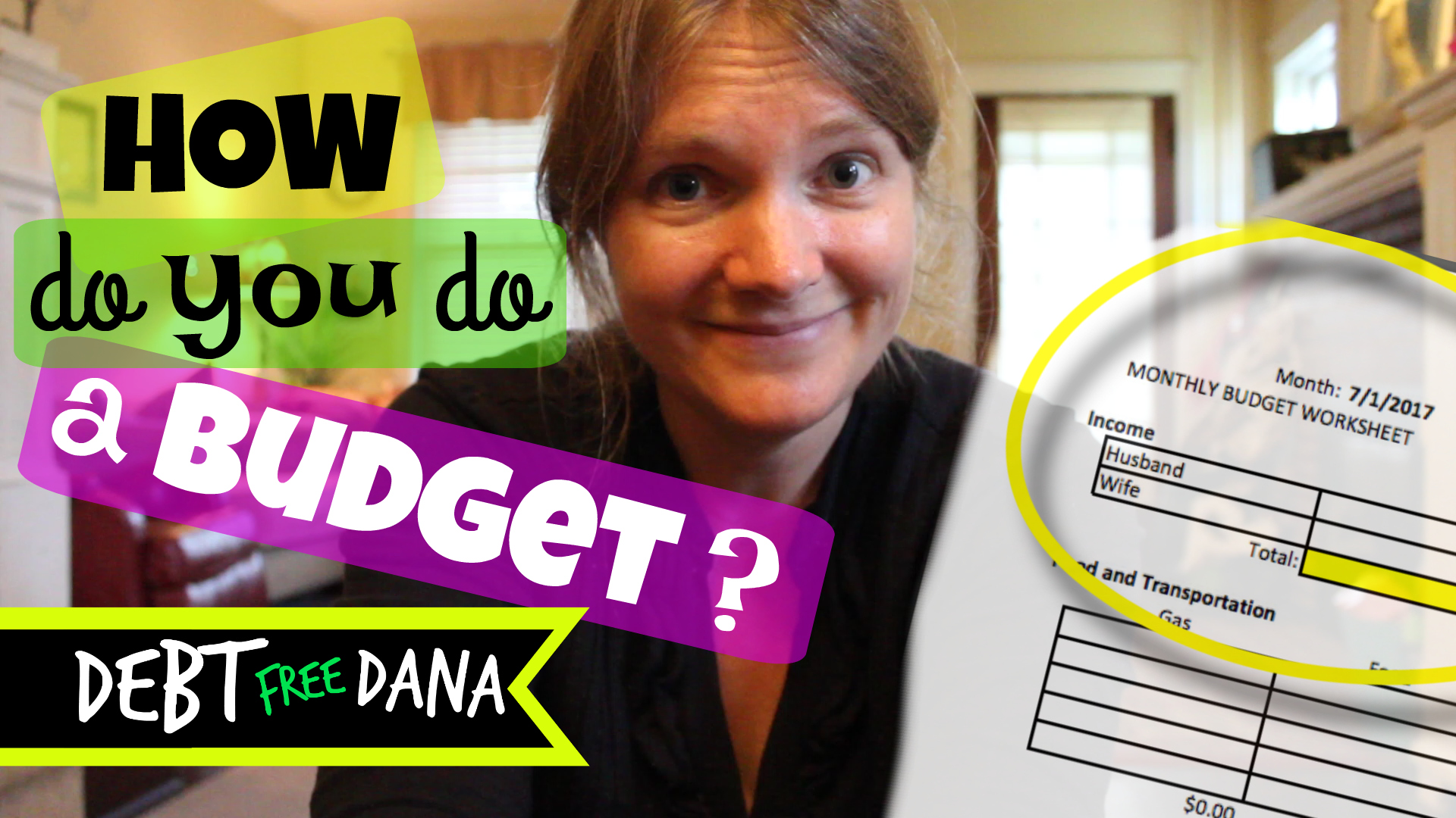 Free Budget Template To Get Out Of Debt Debt Free Dana