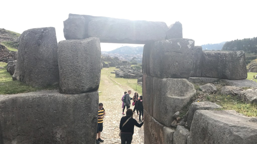 Cusco, Peru, Saqsayhuaman Doorway,
