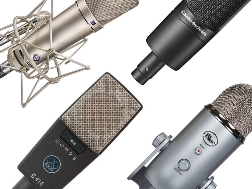 Microphone Types For Narration