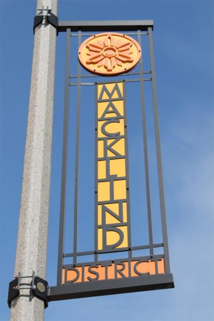 Macklind Business DistrictConsidered my many to be the heart of the neighborhood, the Macklind Business District runs right down the middle of SoHa from Devonshire to Eichelberger and hosts many of the businesses in the neighborhood. Along this strip (and slightly off it), you will find a everything from a deli and a few restaurants to an art gallery