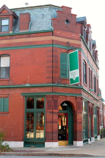Sidney Street CafeIs located in a century old store front building in historic Benton Park. The atmosphere is informally elegant, graced with exposed brick walls, gleaming hardwood floors, and the nationally recognized cuisine of Chef Sidney Street Cafe Website